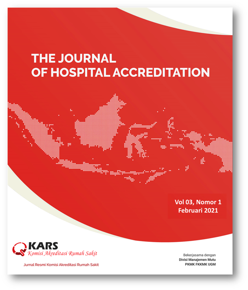 The Journal of Hospital Accreditation Vol 3 No 1